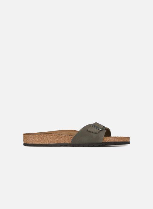 Sandales et nu-pieds Birkenstock Madrid Flor M Gris vue derrière