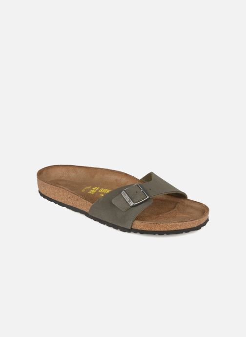 Sandals Birkenstock Madrid Flor M Grey detailed view/ Pair view
