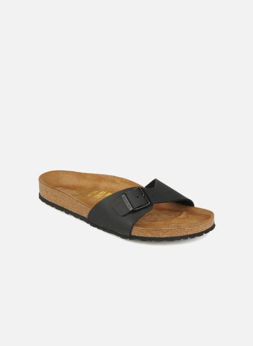 Sandales et nu-pieds Birkenstock Madrid Flor M Noir vue détail/paire