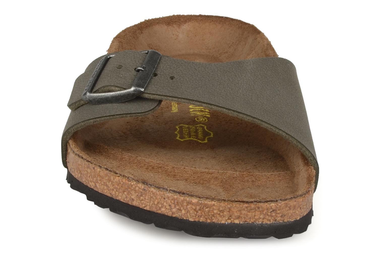Sandales et nu-pieds Birkenstock Madrid Flor M Gris vue portées chaussures