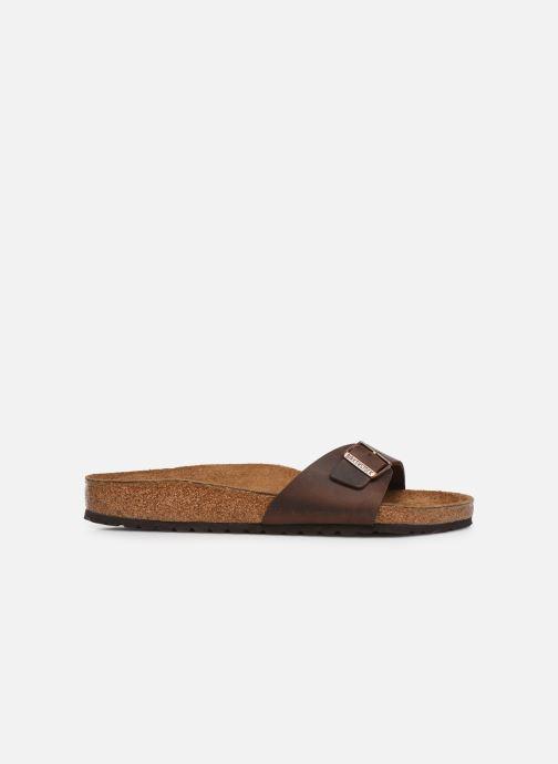 Sandali e scarpe aperte Birkenstock Madrid Cuir M Marrone immagine posteriore