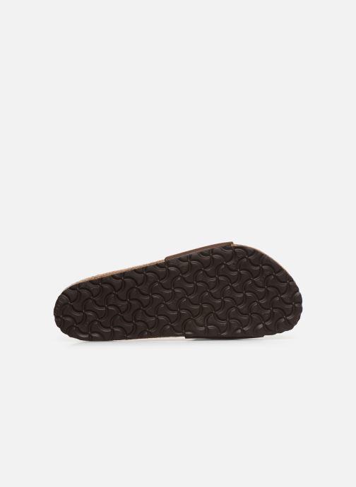 Sandali e scarpe aperte Birkenstock Madrid Cuir M Marrone immagine dall'alto