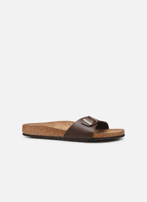 Sandales et nu-pieds Birkenstock Madrid Cuir M Marron vue derrière