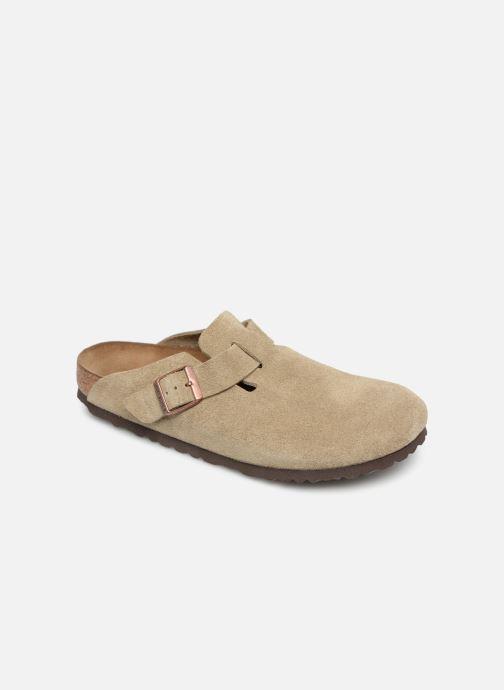 Sandali e scarpe aperte Birkenstock Boston Velours M Beige vedi dettaglio  paio 566f7ef1505