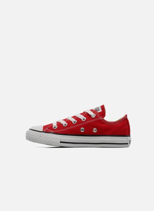 Sneakers Converse Chuck Taylor All Star Ox K Rood voorkant