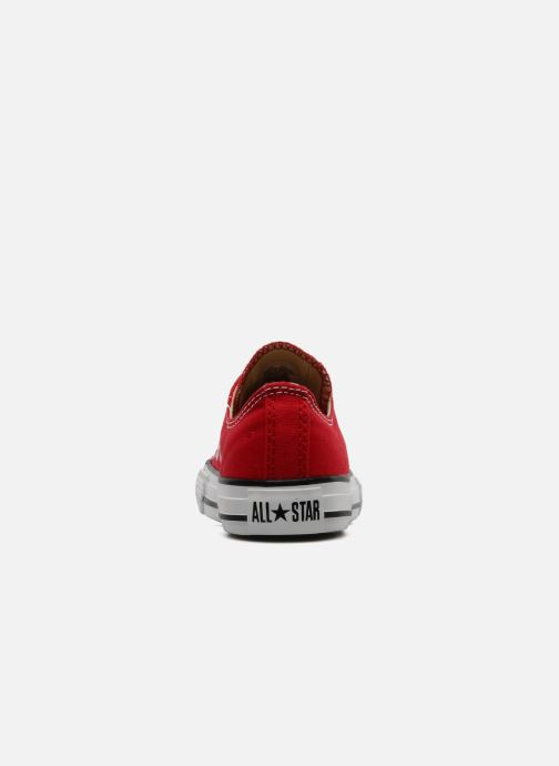 Sneakers Converse Chuck Taylor All Star Ox K Rood rechts
