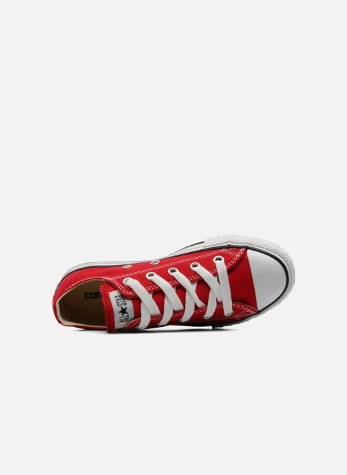 Trainers Converse Chuck Taylor All Star Ox K Red view from the left