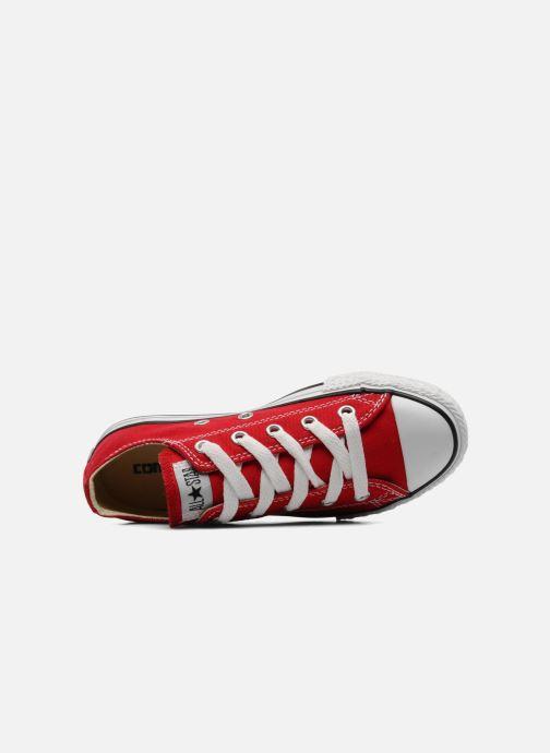 Sneakers Converse Chuck Taylor All Star Ox K Röd bild från vänster sidan