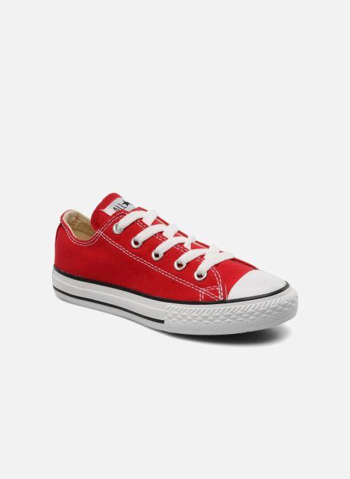 Sneakers Converse Chuck Taylor All Star Ox K Röd detaljerad bild på paret