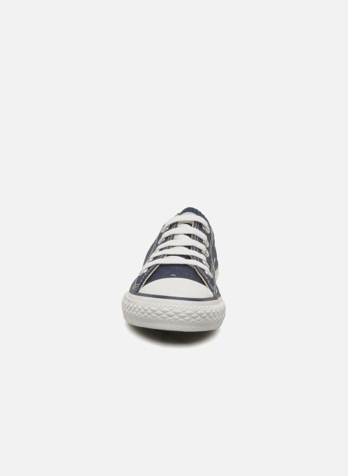 Trainers Converse Chuck Taylor All Star Ox K Blue model view