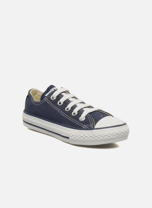 Trainers Converse Chuck Taylor All Star Ox K Blue detailed view/ Pair view