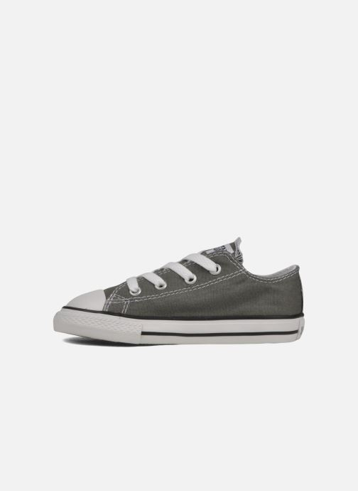 Baskets Converse Chuck Taylor All Star Ox K Gris vue face
