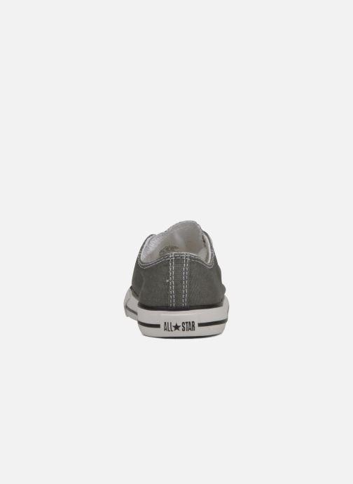 Sneaker Converse Chuck Taylor All Star Ox K grau ansicht von rechts