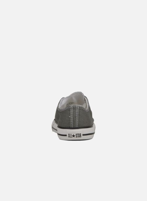 Trainers Converse Chuck Taylor All Star Ox K Grey view from the right
