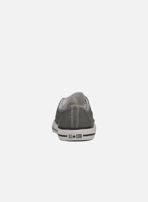 Baskets Converse Chuck Taylor All Star Ox K Gris vue droite