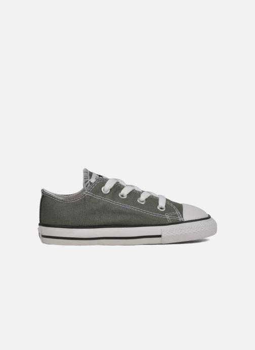 Sneaker Converse Chuck Taylor All Star Ox K grau ansicht von hinten