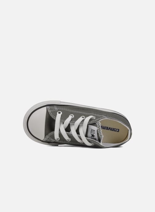 Baskets Converse Chuck Taylor All Star Ox K Gris vue gauche