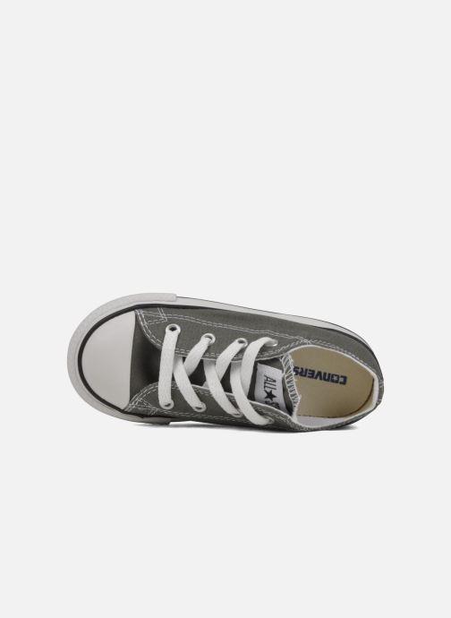 Sneaker Converse Chuck Taylor All Star Ox K grau ansicht von links
