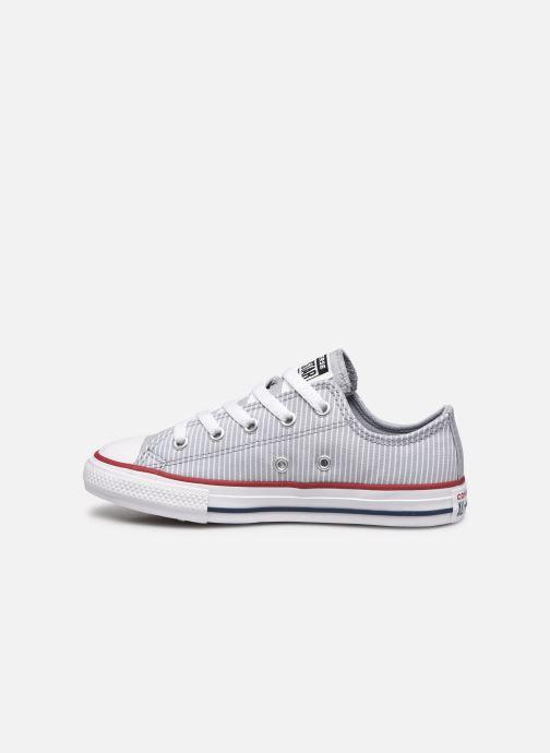 Sneaker Converse Chuck Taylor All Star Ox K grau ansicht von vorne