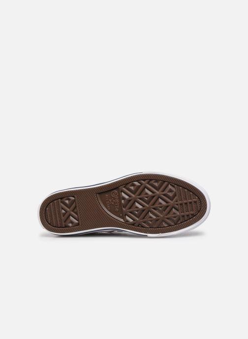 Sneaker Converse Chuck Taylor All Star Ox K grau ansicht von oben