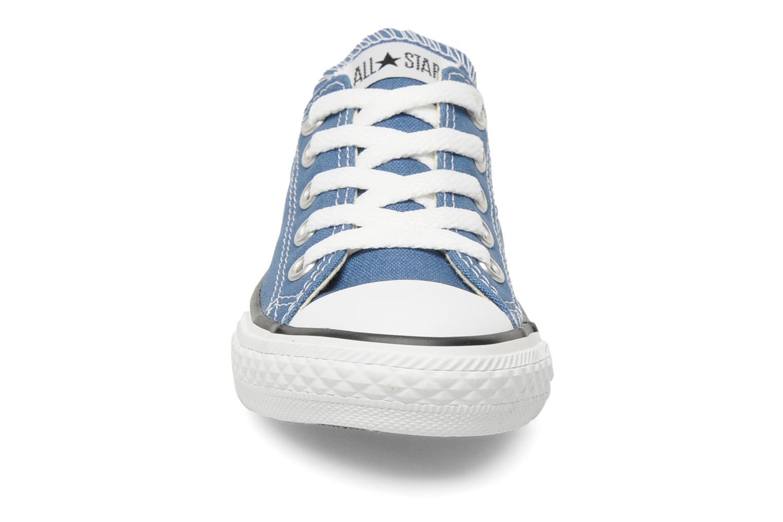 Baskets Converse Chuck Taylor All Star Ox K Bleu vue portées chaussures