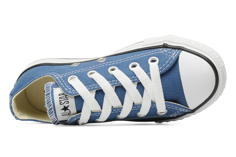 Baskets Converse Chuck Taylor All Star Ox K Bleu vue gauche