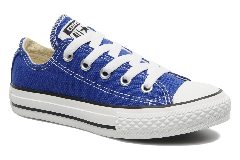 c08afab233b12 Converse Chuck Taylor All Star Ox K (Bleu) - Baskets chez Sarenza ...