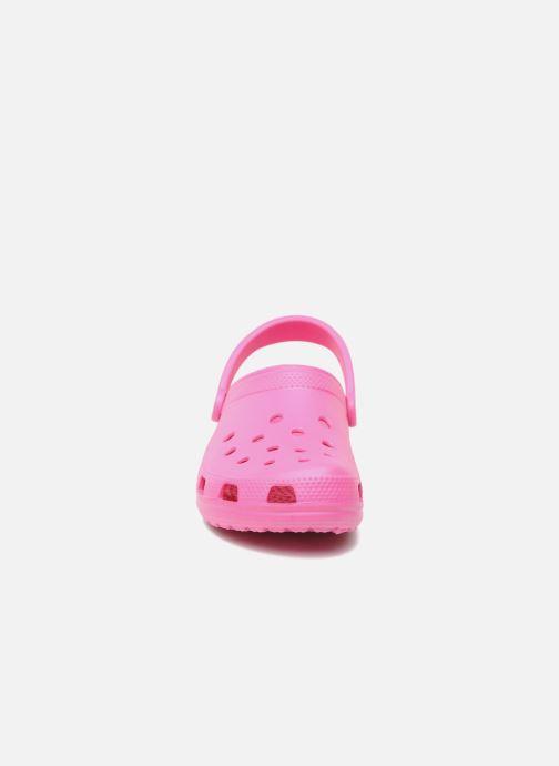Clogs & Pantoletten Crocs Cayman F rosa schuhe getragen