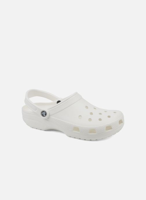 Mules & clogs Crocs Cayman F White detailed view/ Pair view