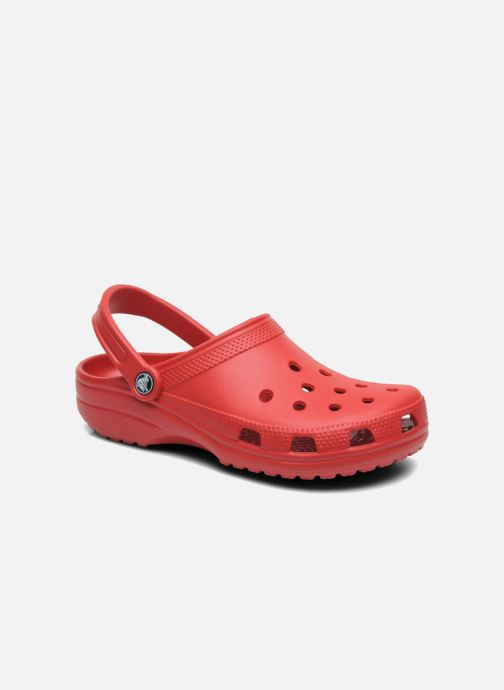 Mules & clogs Crocs Cayman F Burgundy detailed view/ Pair view