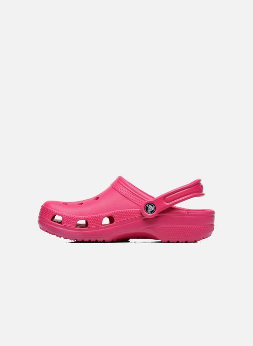 Clogs & Pantoletten Crocs Cayman F rosa ansicht von vorne