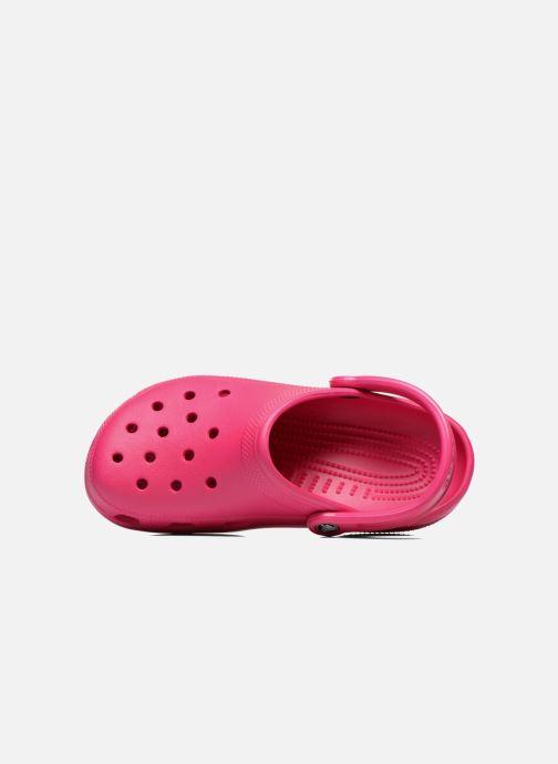 Clogs & Pantoletten Crocs Cayman F rosa ansicht von links