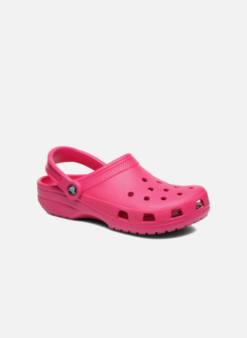 Mules & clogs Crocs Cayman F Pink detailed view/ Pair view