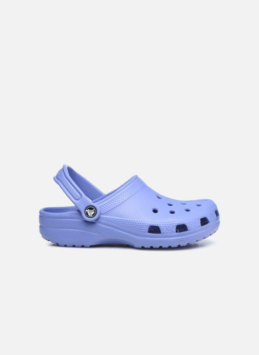 Zuecos Crocs Cayman F Azul vistra trasera