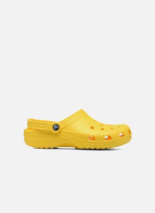 Clogs & Pantoletten Crocs Cayman F gelb ansicht von hinten