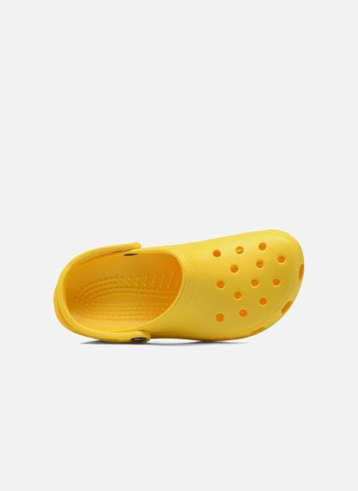 Clogs & Pantoletten Crocs Cayman F gelb ansicht von links