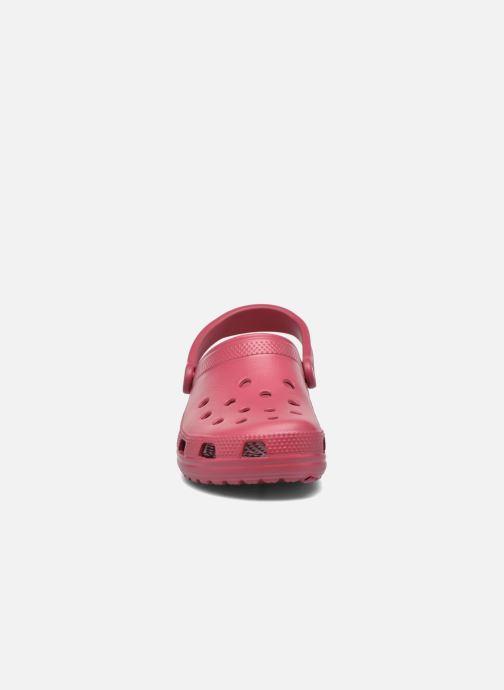 Clogs & Pantoletten Crocs Cayman F rot schuhe getragen