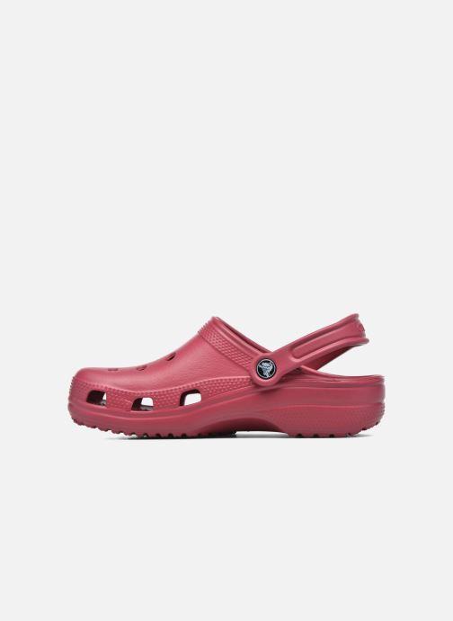 Mules et sabots Crocs Classic F Rouge vue face