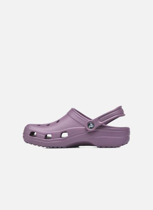 Clogs & Pantoletten Crocs Cayman F lila ansicht von vorne