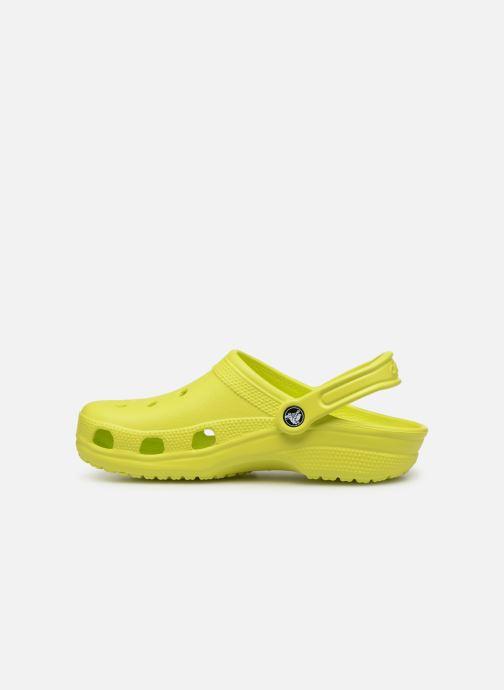 Clogs & Pantoletten Crocs Cayman F gelb ansicht von vorne