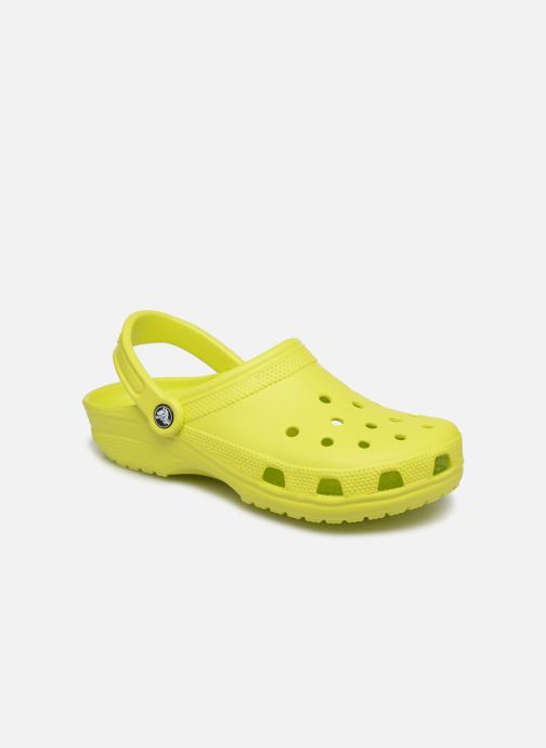 Mules & clogs Crocs Cayman F Yellow detailed view/ Pair view