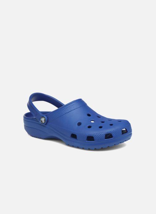 Mules et sabots Crocs Classic F Bleu vue détail/paire