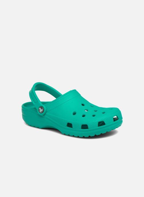 3139a90c8 Crocs Cayman F (Green) - Mules   clogs chez Sarenza (312458)