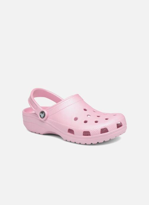Clogs & Pantoletten Crocs Cayman F rosa detaillierte ansicht/modell