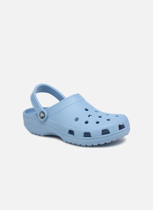 Mules et sabots Crocs Classic W Bleu vue détail/paire