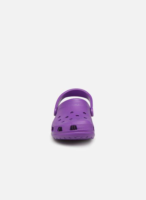 Clogs & Pantoletten Crocs Cayman F lila schuhe getragen