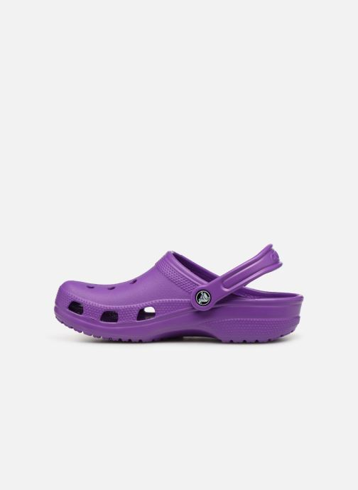 Mules & clogs Crocs Cayman F Purple front view