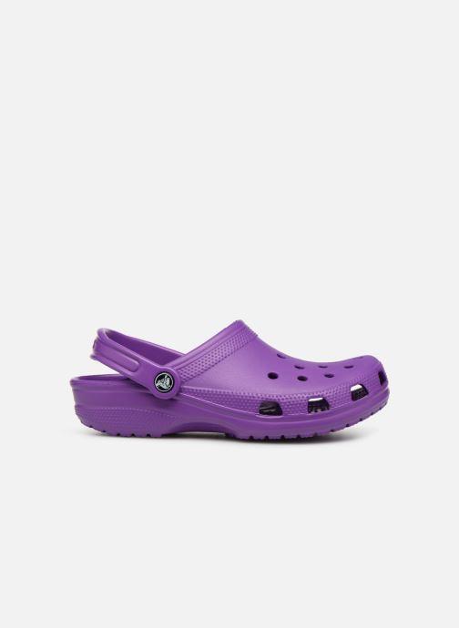 Mules et sabots Crocs Classic F Violet vue derrière