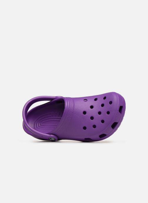 Mules & clogs Crocs Cayman F Purple view from the left
