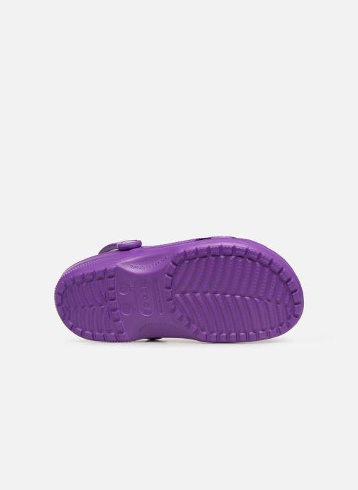 Mules et sabots Crocs Classic F Violet vue haut